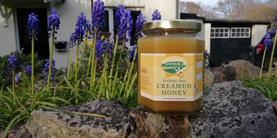 Jar of creamed honey (soft set)